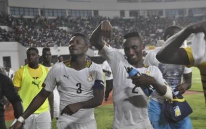 Black Stars beat Guinea 3-1