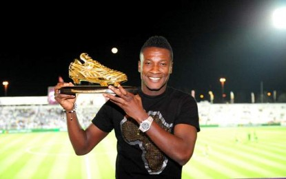Asamoah Gyan to receive big award in Germany