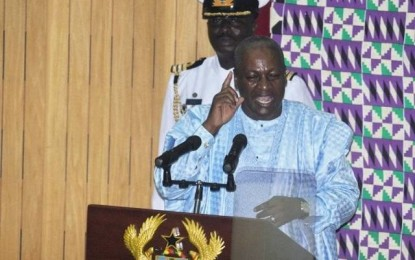 President Mahama orders tight borders for Ghana-Guinea