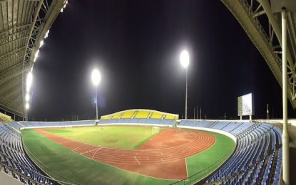 Chinese contractors hand over completed Cape Coast stadium to NSA