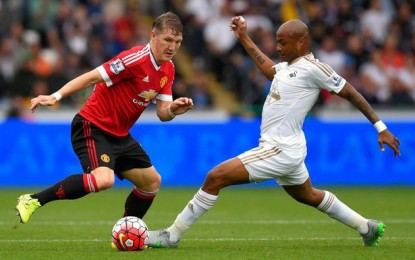 Dede Ayew is second most fouled player in EPL