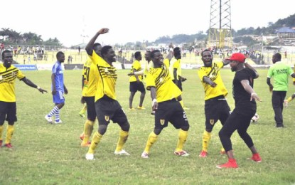 Ashantigold defeat MO Bejaia of Algeria in Champions League