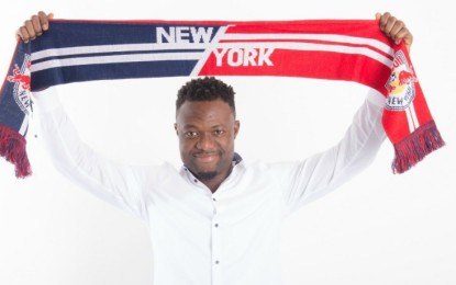 Gideon Baah signs for MLS side New York Red Bulls