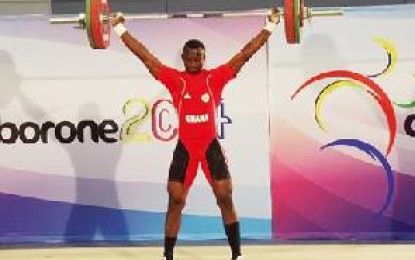 Ghana Weightlifting Rising Star revealed