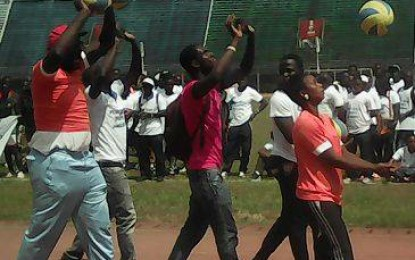 Sierra Leone hosts post-Ebola 'Sports Jamboree'