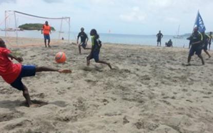 Beach Soccer Invade Western Region