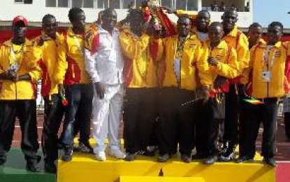 Ghana's Black Bombers off to Yaounde for Rio Qualifiers