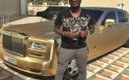 Gyan is Africa's highest paid footballer