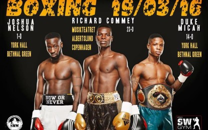3 of Ghana's best  boxers on show