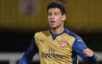 Arsenal starlet Marcus Agyei-Tabi abandons Ghanaian name
