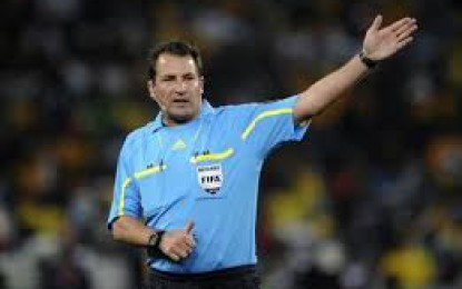 Moroccan ref for Ghana vs Mozambique game