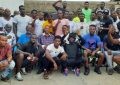 GBA President aspirant Manly-Spain meets pro boxers