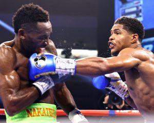Stevenson beats Nakathila to claim WBO jr. lightweight belt